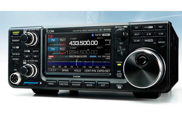 ICOM IC-9700 Transcetor VHF / UHF 144, 430/440, 1200 MHz com 100w