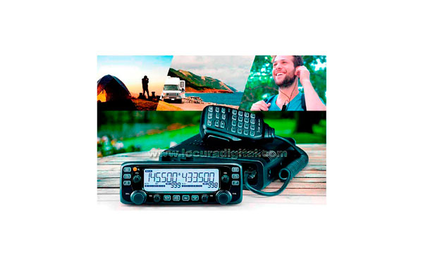 Icom IC2730E new dual transceiver VHF / UHF band IC-2730E. It is the successor to the IC-2720H series, inheriting basics and advanced features such as the ability to simultaneous reception V / V, U / U, independent adjustment knobs and separate controller