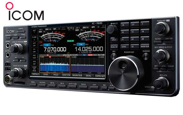 ICOM IC-7610 HF Transceiver / 50MHz All Mode.
