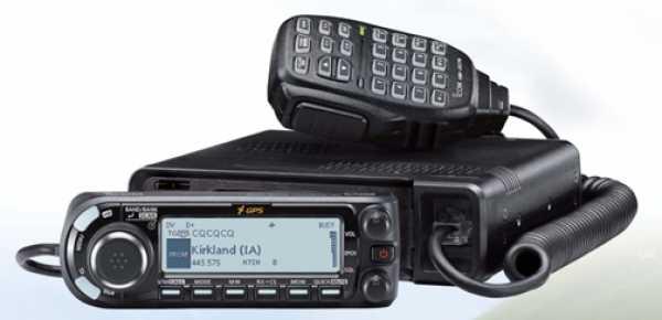 ICOM ID-4100 VHF/UHF Dual Band D-STAR Digital Mobile Transceiver