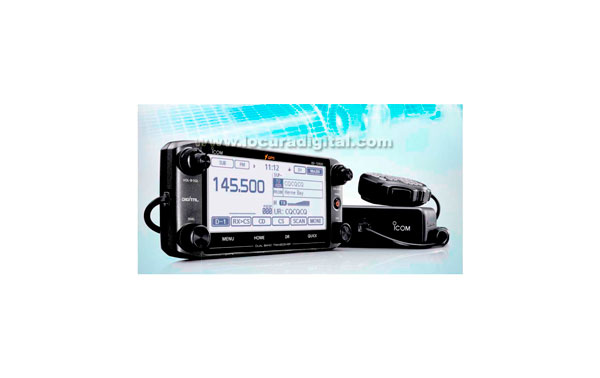 ICOM ID-5100E VHF MOBILE STATION DUPLO 144 / UHF 430 MHz.