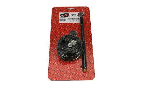 PROCOMM JBC-101 Antena vehiculo base iman 8 cm CB27 Longitud 22 cm