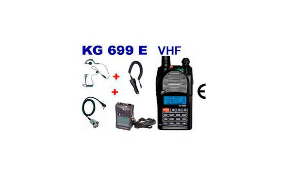 wouxun kg699e 5t vhf 5  2 tonos kit a walkie talkie vhf 144