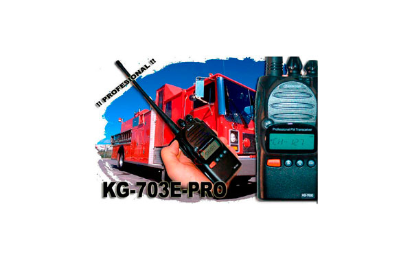 WOUXUN KG703E-PRO 8S SCRAMBLER Y 128 CANALES DE MEMORIA. WALKIE VHF POTENCIA 5 WATIOS