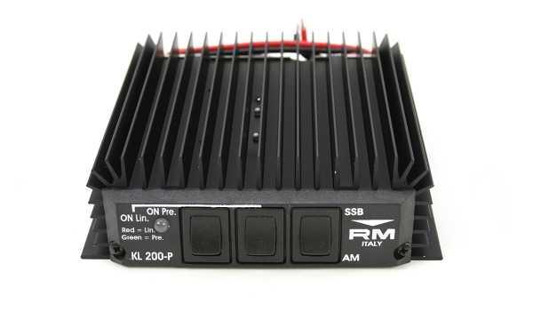 RM KL-200-P Amplificador HF pre-amplificador frecuencia 25-30 mhz