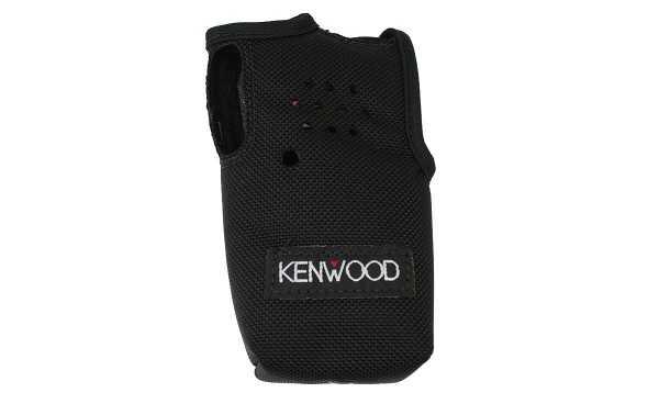KLH-197NCD Estojo de nylon com clipe original KENWOOD TK3501E, TK2000, TK3000