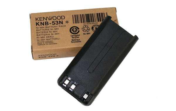 KNB53NM KENWOOD batterie d'origine NI-MH 1.400 mAh. Valable pour les walkies TK-3201, TK-3301, TK-2302 et TK-3302. Il remplace également le KNB29 et le KNB30