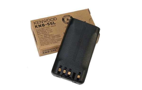 KNB-55L KENWOOD LITHIUM battery 1.480 mAh. For the Kenwood TK-2140, TK-3140, TK-2170