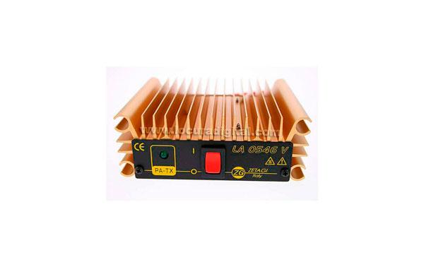 LA0546V ZETAGI amplificador lineal de VHF, de 155 a 165 Mhz. 0,5 a 45 wats, 12 v