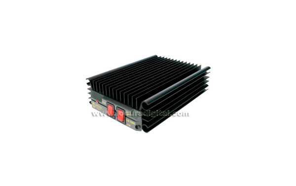 LA1080V ZETAGI amplificador VHF de 140 a 170 Mhz. de 10 a 100 wats, 12 voltios