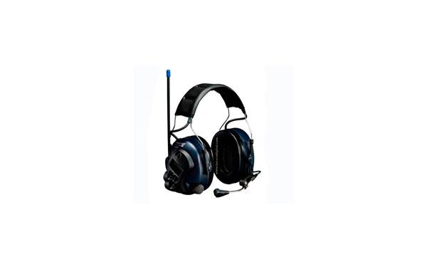 PELTOR MT7H7A4410EU -PLUS DIADEMA Protector auditivo con Walkie Talkie PMR446 para comunicaciones en ambientes muy ruidosos