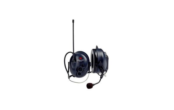 PELTOR MT53H7B4400EU -BASIC SUJECCION NUCA Protector auditivo con Walkie Talkie PMR446 para comunicaciones en ambientes muy ruidosos