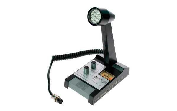 MBPLUS5 A6 ZETAGI microfono de sobremesa