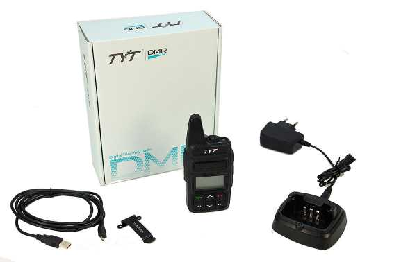 TYT MD-430  Walkie Talkie DMR, VHF/UHF Analogico y Digital 410/470Mhz