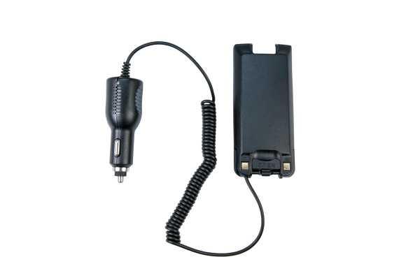 MD-ELIM2017 ELIMINADOR BATERIA TYT MD-2017 con conector de mechero 12v, permite quitar la bateria y coenctar directamente el walkie a una toma de mechero