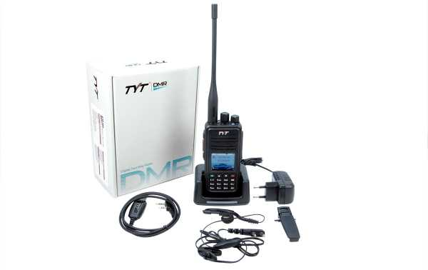 TYT MD-UV380-GPS Walkie Talkie DMR, Dual Band 144/430 Mhz + GPS