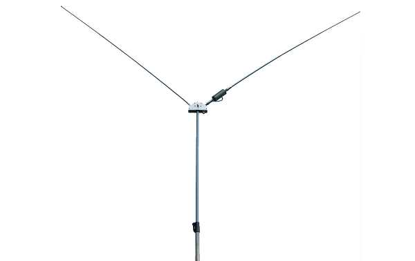 """MFJ-2289 MFJ Adjustable portable dipole to cover from 7.0 to 55 MHz. The MFJ-2289 is truly a """"wide coverage"""" antenna because it can tune to an exceptionally low SWR at any frequency between 7.0 and 55 MHz."""