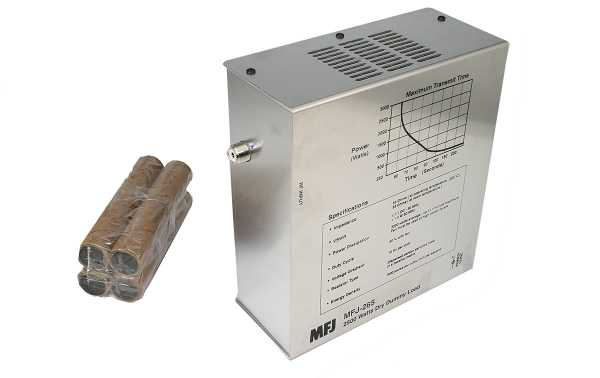 MFJ265 MFJ dummy load 1-- 60 MHz maximum power 2,5KW