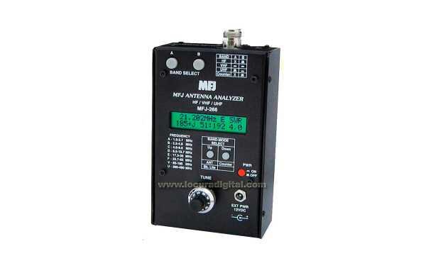 MFJ-266  ANALIZADOR DE ANTENAS  HF/VHF/UHF