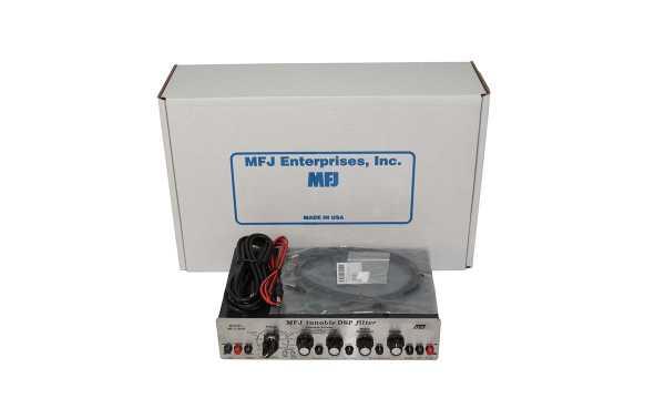 MFJ 784B Tunable DSP Audio Filter 15 filtros predefinidos.