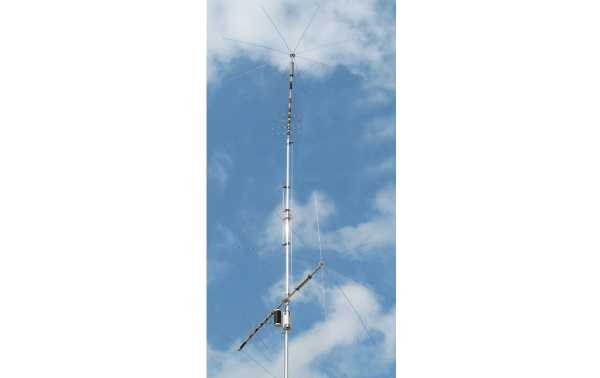 MFJ1799 MFJ Antena Vertical 10 band 2,6,10,12,15,17,20,30,40,80 metros