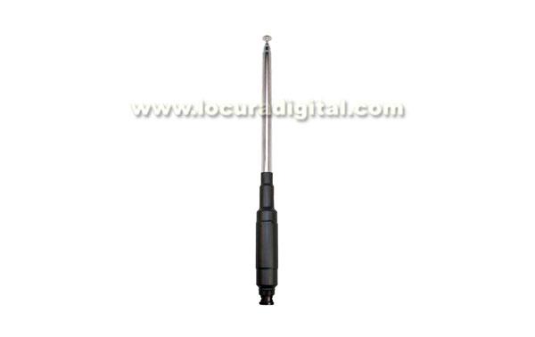 MFJ1820T telescopic antenna MFJ HF 20 m for FT-817, maximum power 25 W, BNC connector