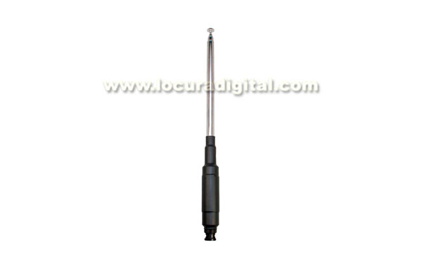 MFJ1880T telescopic antenna MFJ HF 80 m for FT-817, maximum power 25 w, cononector BNC