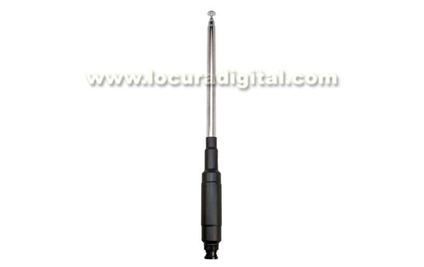 MFJ1840T MFJ HF telescopic antenna 40 meters FT-817, 25 watts maximum power, BNC connector