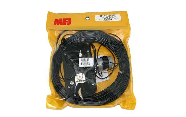 MFJ1982HP MFJ Antena de Hilo End-Fed Horizontal 10-80 m