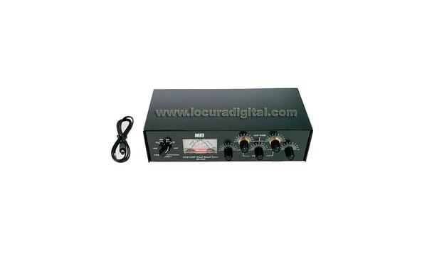 MFJ923 MFJ  Acoplador 144/440 doble banda 200 wats. Medidor ROE / Watimetro