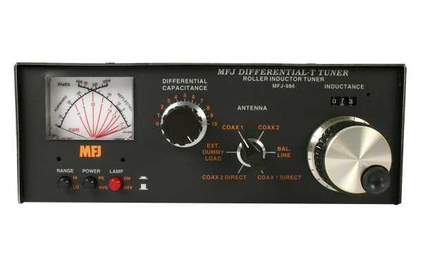 MFJ986 Puissance du coupleur manuel 3 KW, couverture 1,8-30 MHz