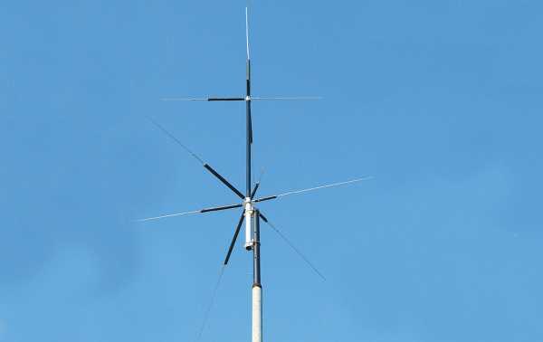 MFJ2389 Vertical Antenna 8 bands 80, 40, 20, 15, 10, 6, 2M 70CM