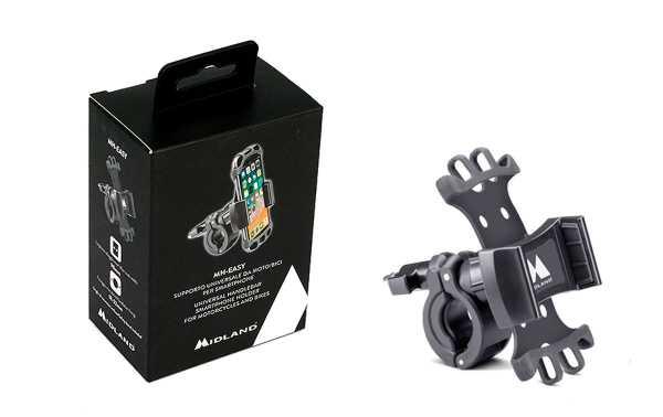 MIDLAND MH-EASY Soporte bicicleta, moto, etc.. para SMARTPHONE