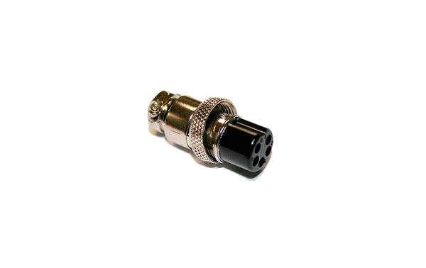MICRO5H Conector hembra de 5 pins para microfono