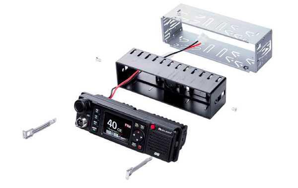 MIDLAND M-88 Emisora de CB 27 AM-FM 40 Canales, voltaje 12-24 voltios