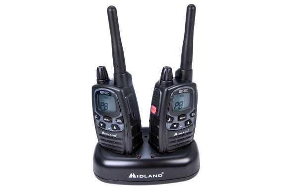 Midland G7E-PRO casal livre walkies de uso