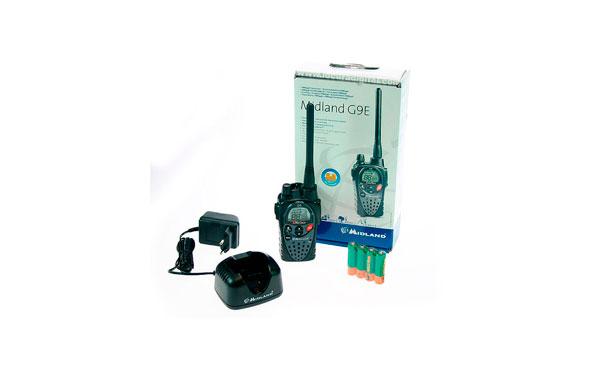 MIDLAND-G9 MIDLAND walkie uso libre PMR 446 !! NUEVO MODELO !!