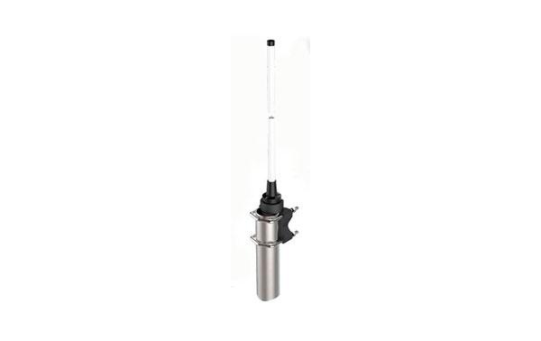 BANTEN14198 BANTEN Antena Omnidireccional Colineal VHF Profesional 147-162 Mhz. Fibra Vidrio 2,50 mts. 5,15 dBi