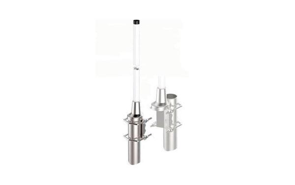 BANTEN14181 BANTEN Antena Omnidireccional VHF banda baja Profesional 75-80 Mhz. Fibra Vidrio Longitud 2,80 mts ganancia 2 dBi