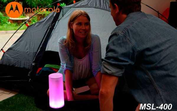 MOTOROLA MSL-400 400 lumens farol com Bluetooth