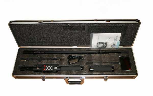 MP-6868 BARRISTER Système de vision d'inspection télescopique avec enregistrement d'une longueur étendue de 3,5 mètres.