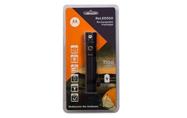 MOTOROLA MR-550 Light Flashlight with 1000 lumens