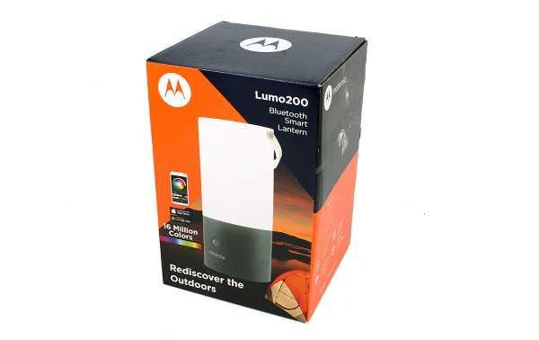 MOTOROLA MSL-200 Linterna 200 lumens tipo farola con Bluetooth