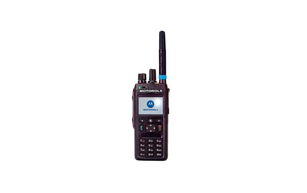 MTP3150 MOTOROLA TETRA 350-430 batterie Mhz + Li-Ion 1650 mAh + longue antenne.