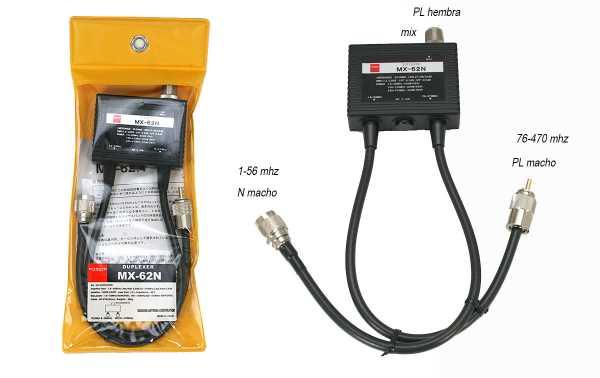 Diamond MX62N Duplexor 1,6-56 MHZ, 76-470 Mhz