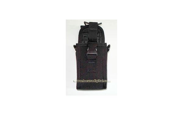 MY123 Funda Universal para walkies grandes, con clip y pinza cinturón