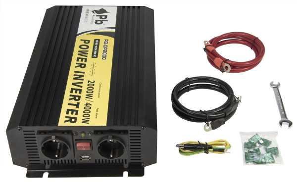 LAFI-122000NS senoidal pura inversor de onda de 12 volts - 220 watts volt.2.000