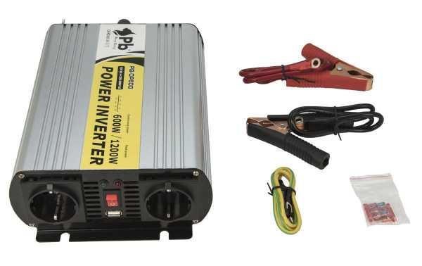 LAFI-12600NS  Inversor  Onda Senoidal Pura 12 volt - 220 volt.600 wats