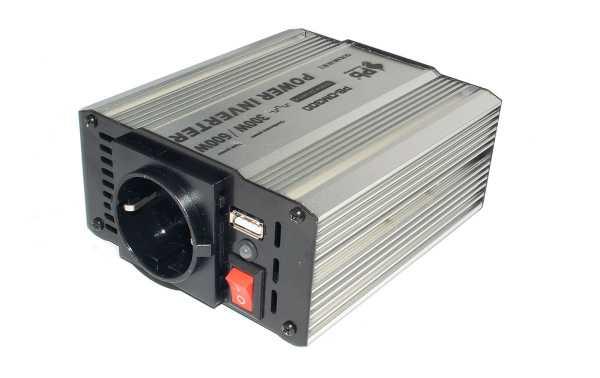 WHS300 12. INVERTER 12 V. to 220 V. Power 300 WAT.