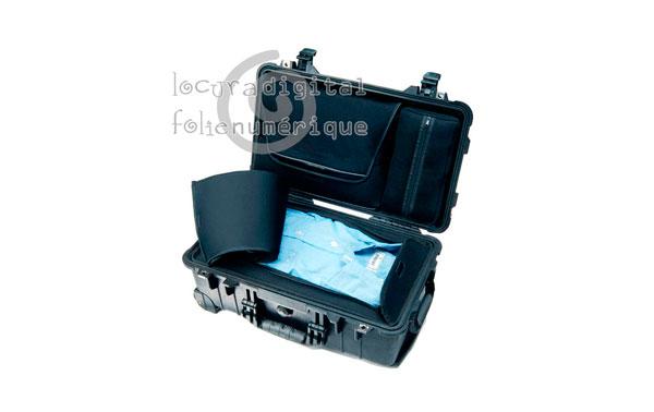 1510006110 Maleta Negra LOC, Laptop Overnigtht Case